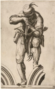 Alberti, An Archer Shooting a Crossbow